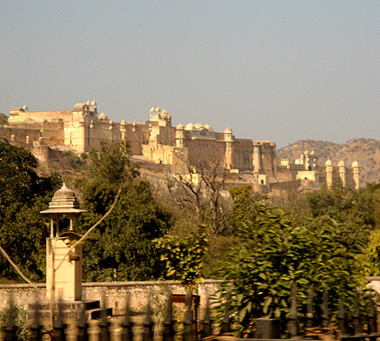 Amber or Amer Fort is Jaipur's premier fort