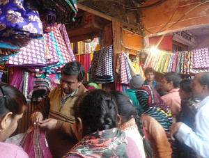 Brisk sales and hard bargaining is the order of the day in Jaipur's traditional bazaars