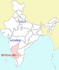 India-outline-BENGALRU