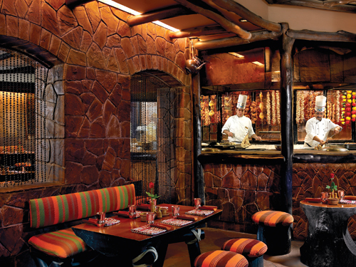 Bukhara's evergreen interiors have remained unchanged over the years