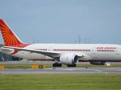 Air India plane - file pic dreamliner