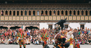 Traditional Thimpu dance