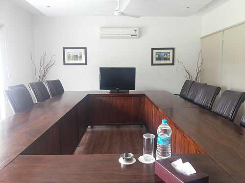 Aalia is well placed to host board meetings
