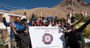 global himalayan expedition 2014
