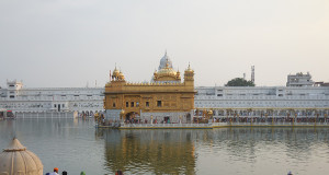 The Harmandir Sahib is the holiest shrine for Sikhs, and is referred to as the Golden Temple