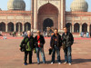 foreign tourist to India image