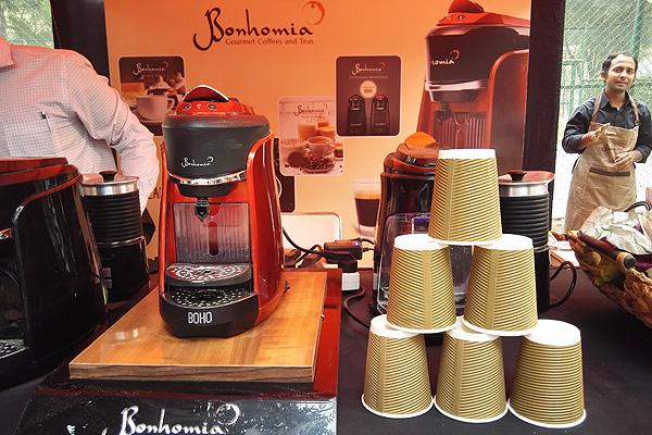 Bonhomia had their new coffee makers on sale