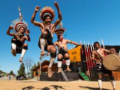 hornbill festival dancers