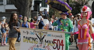 Mardi-gras party/festival at New Orleans is one of the best street parties you will ever go to