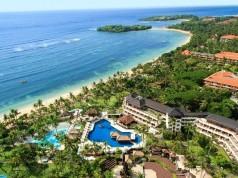 Nusa Dua Beach Hotel and Spa, Bali view from the air