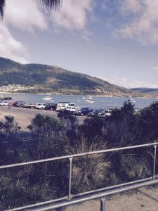 tasman national park parking