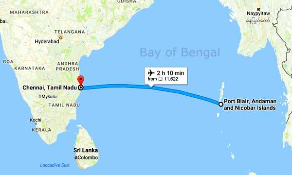 Flying Between Chennai Amp Port Blair To Be Safer Musafir