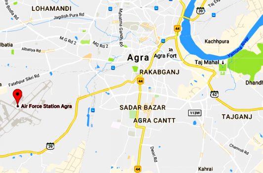 agraairportmap Musafir Namah