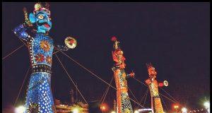 Ravan effigies