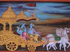 Krishna in Gita