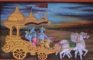 Krishna in Gita
