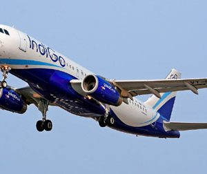 indigo airline plane