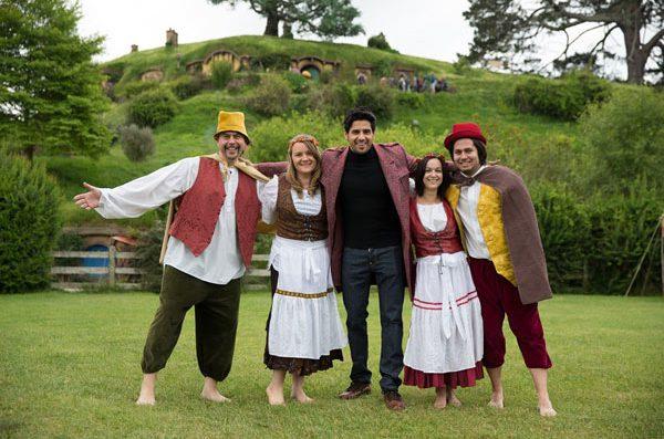 Sidharth Malhotra poses at The Hobbiton