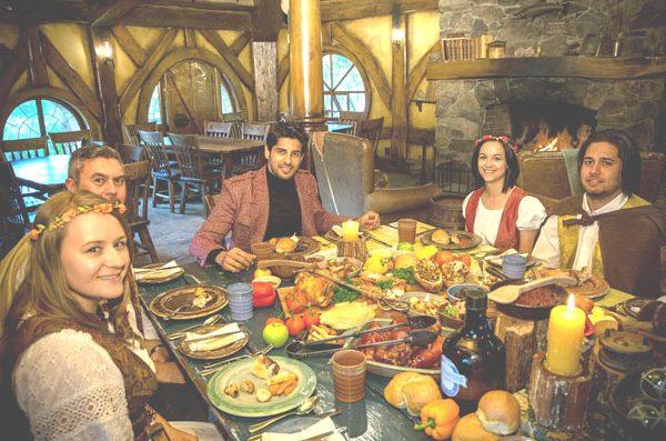 Sidharth Malhotra visits The Hobbiton