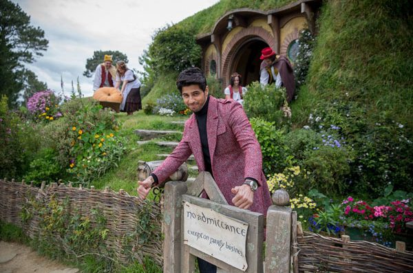 Another view of Sidharth Malhotra at The Hobbiton