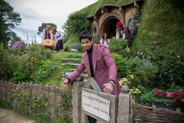 Another view of Sidharth Malhotra at The Hobbiton