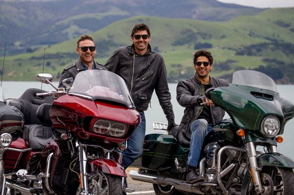 A Harley ride with buddies