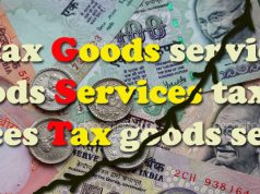 gst tax graphic