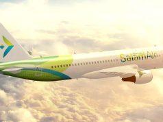 salam air plane oman