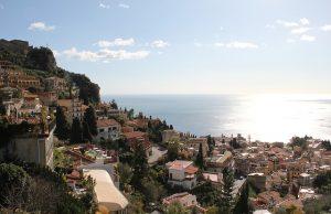 Taromina city, Sicily, Italy