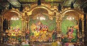 indian temple-interior-generic image