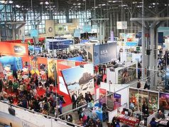 New York Times Travel Show 2017.