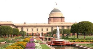 Rashtrapati Bhavan Mughal Gardens,Delhi. Now open to public till March 10