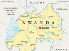 rawanda map