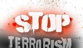 stop terrorism graphic