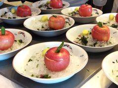 leela hotel apple dish