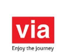 via.com site logo