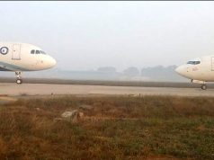 plane face off spicejet indigo
